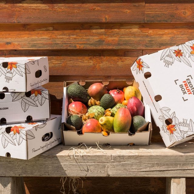 Caja de fruta: Exotic Fruit Box